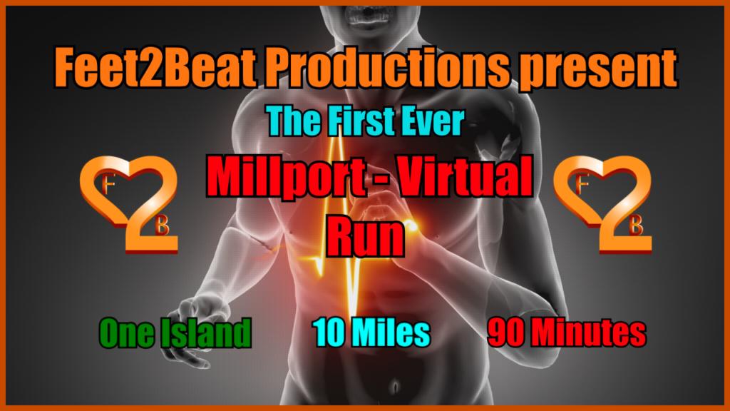 Feet2Beat Millport Virtual Run